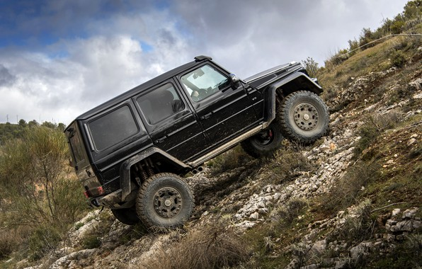 Picture Black, Mercedes, Mercedes, G500, 4x4²