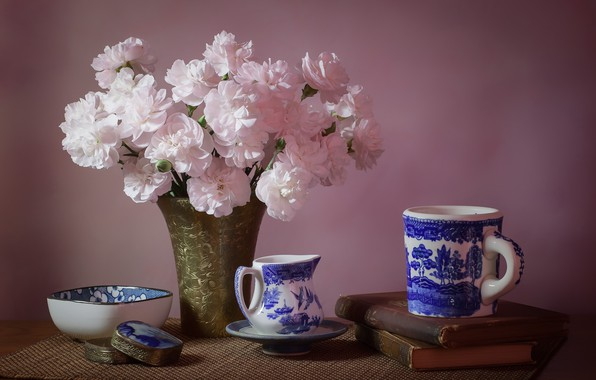 Picture dishes, still life, clove