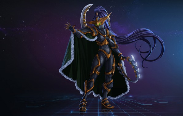 Picture Fantasy, Warcraft, Art, Night Elf, Concept Art, Elf, Characters, Maiev, Maiev Shadowsong, by Kazbek Dzasezhev, ...