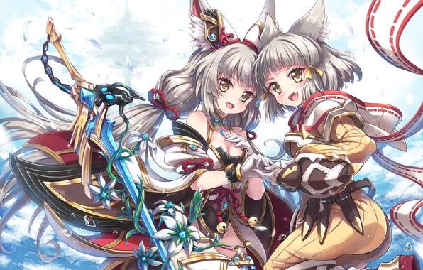 Picture Girls, Anime, Fantasy, Xenoblade