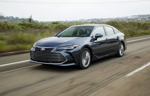 Picture road, Toyota, Hybrid, 2018, Avalon