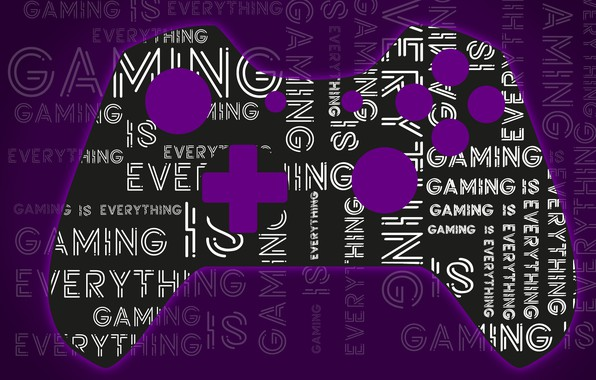 Picture Purple, Gaming, Controller, XBOX