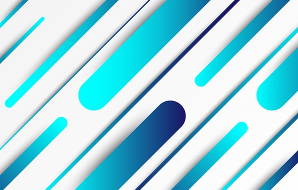 Picture design, abstraction, blue, vector