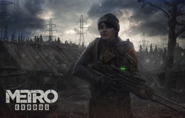 Picture Anna, art, Metro, 4A Games, Exodus, Metro: Exodus