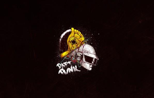 Picture Minimalism, Music, Daft Punk, Thomas Bangalter, Helix, Daft Punk, Mask, Craig Drake, Guy Manuel de …