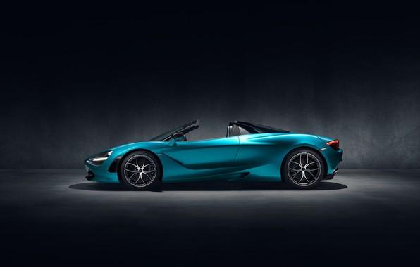Picture McLaren, side view, Spider, 720S, 2019