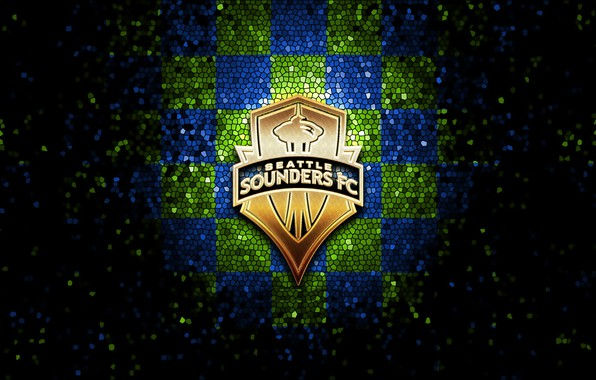 Wallpaper Wallpaper Sport Logo Football Glitter Checkered Mls Seattle Sounders Images For Desktop Section Sport Download