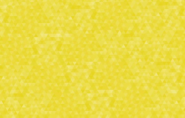 Picture abstraction, yellow, background, pattern, geometry, triangle
