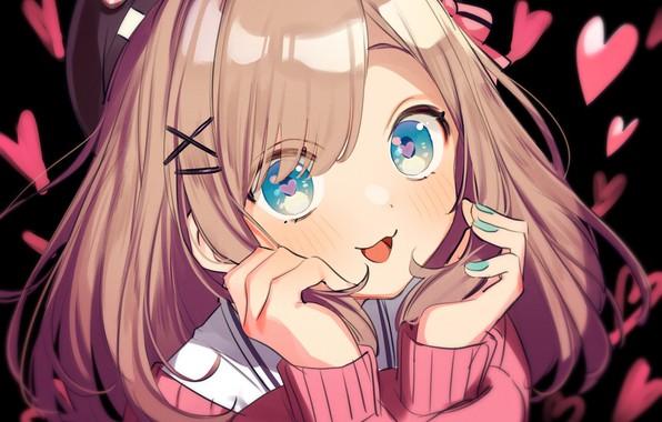 Picture look, anime, art, Nijisanji, Virtual YouTuber, suzuhara lulu