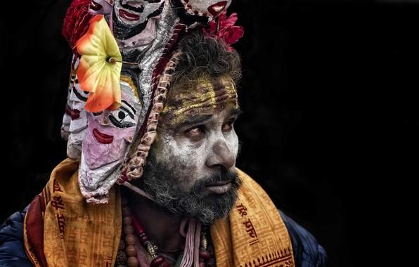 Picture Nepal, Kathmandu, Sadhu, Maha Shivaratri, Hinduism
