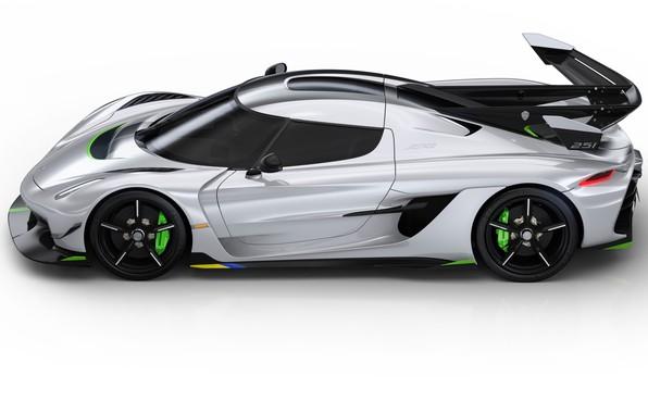 Picture machine, light, lights, Koenigsegg, drives, hypercar, Jesko