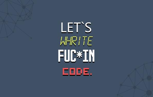 Picture minimalism, code, enjoy, motivation