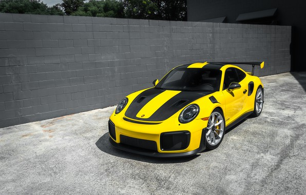 Picture Porsche, Yellow, GT2 RS, Stuttgart, VAG