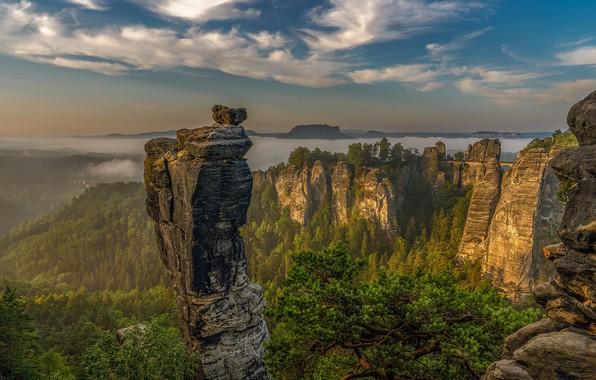 Picture mountains, Germany, Saxon Switzerland