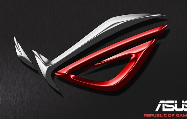 Picture the dark background, the inscription, logo, logo, asus, inscription, dark background, ASUS