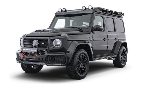 Picture Mercedes-Benz, Brabus, Adventure, 2019 D35