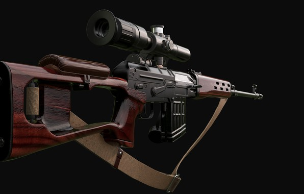 Picture Classic, SVD, Dragunov sniper rifle