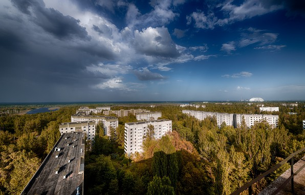 Picture Pripyat, Ukraine, The Chernobyl exclusion zone