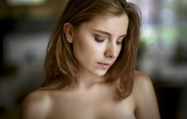 Picture girl, face, model, Chris Bos, Kate Chromia