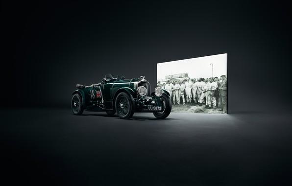 Picture machine, retro, Bentley, Blower