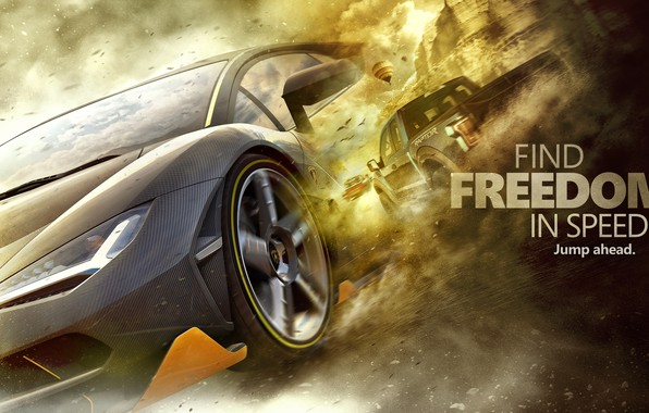 Picture art, Forza Horizon 3, Freedom In Speed