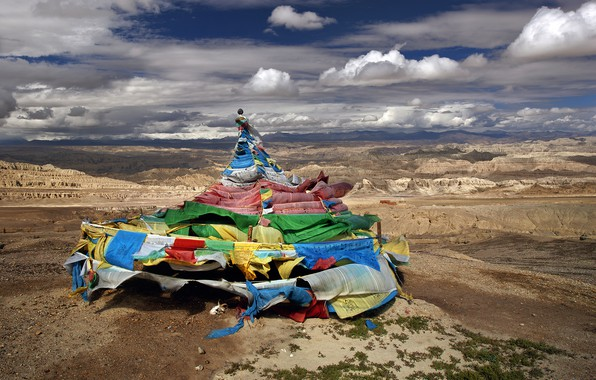 Picture mountains, nature, Himalayas, Western Tibet