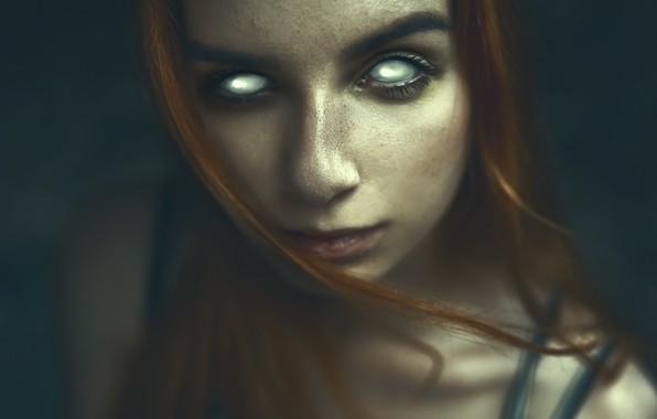 Picture Girl, girl, bra, Darkness, long hair, photo, photographer, blue eyes, model, Eyes, lips, face, coat, …