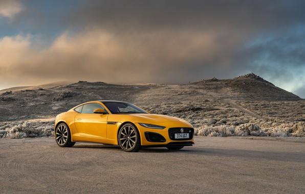 Picture jaguar, coupe, f-type, 2020