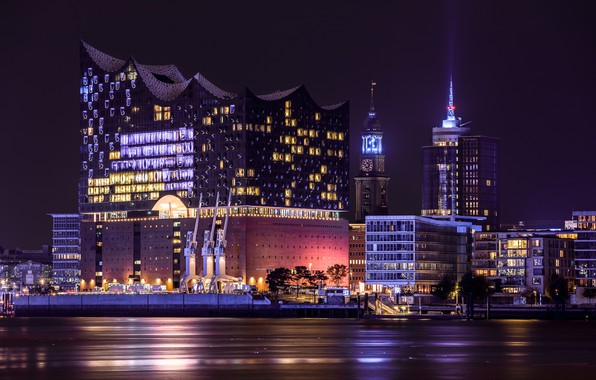 Picture night, Hamburg, Elbphilharmonie