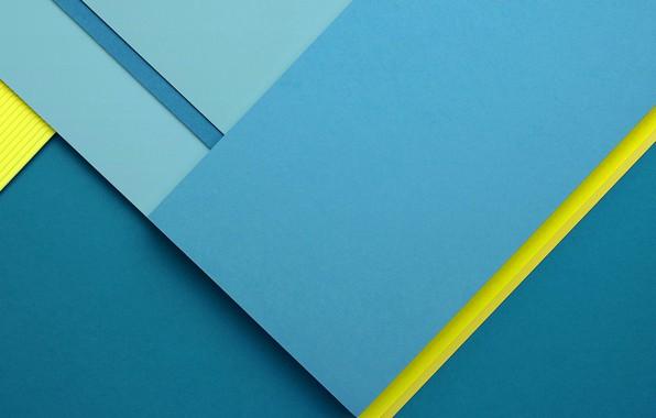 Picture line, blue, strip, yellow, background, faces, lines, edge, fon