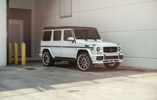 Picture Mercedes, AMG, Germany, White, G63, W463