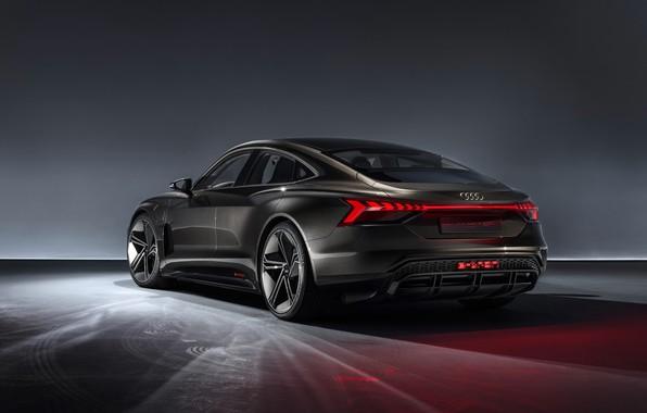 Picture Concept, Audi, rear view, 2018, e-tron GT Concept, E-Tron GT
