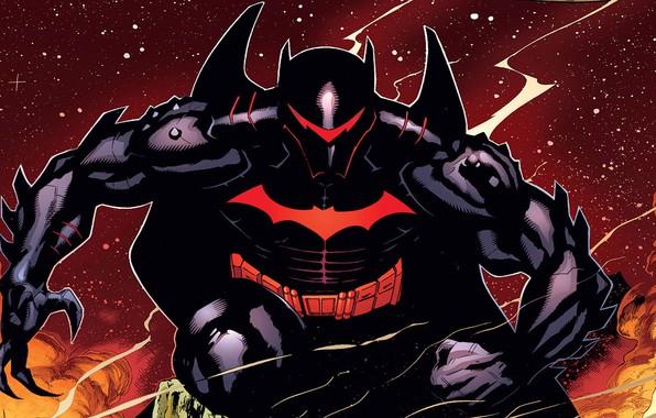Picture batman, Batman, costume, armor, armor, DC Comics, helmet, hellbat