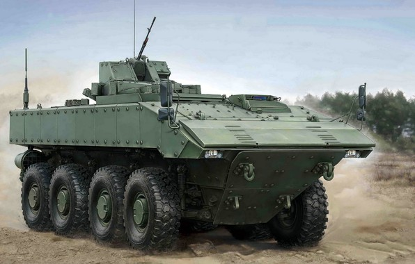 """Picture armored combat vehicle, Boomerang, middle weight category, Unified combat platform codenamed """"boomerang"""", wheeled platform, promising …"""