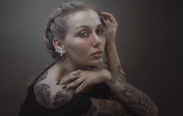Picture Photo, Piercing, Tattoo, Girl, Hosein Shirvani
