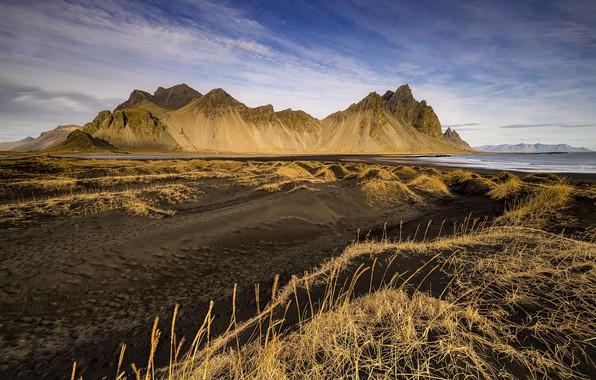 Picture Iceland, Vestrahorn, Stoksness