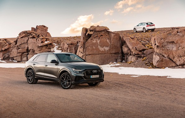 Picture Audi, Audi, S-Line, TFSI, Audi Q8, Audi Q8 55 TFSI Quattro S-Line 2018