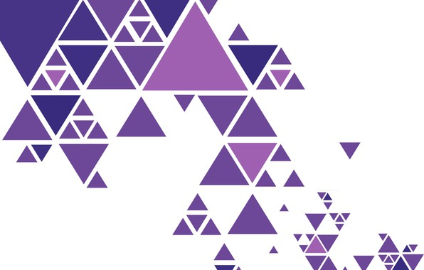Picture abstraction, vector, colorful, geometry, background, triangle