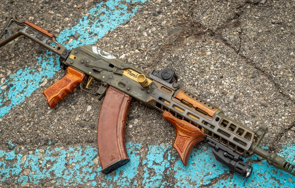 Picture weapons, gun, weapon, custom, Kalashnikov, AK 47, assault rifle, assault Rifle, AK 47, Kalashnikov, AKM, …