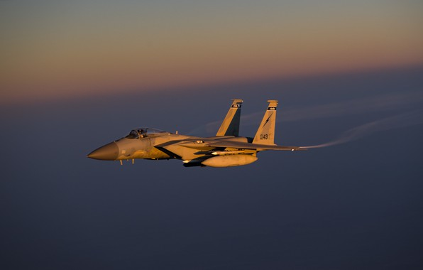 Picture Eagle, UNITED STATES AIR FORCE, McDonnell Douglas, the fourth generation fighter, F-15C, American all-weather, superiority …
