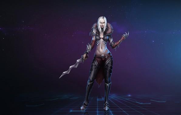Picture Girl, Fantasy, Blizzard, Art, Diablo III, Diablo, Characters, Necromancer, Necromancer, Game Art, by Kazbek Dzasezhev, …