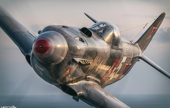 Picture Screw, The hood, Pilot, The Second World War, The Yak-3, As-3M, THE RED ARMY AIR …