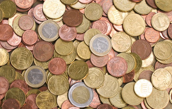 Picture metal, money, coins