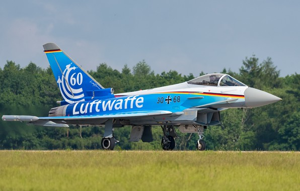 Picture The rise, Eurofighter Typhoon, Chassis, The German air force, Multi-Role Fighter