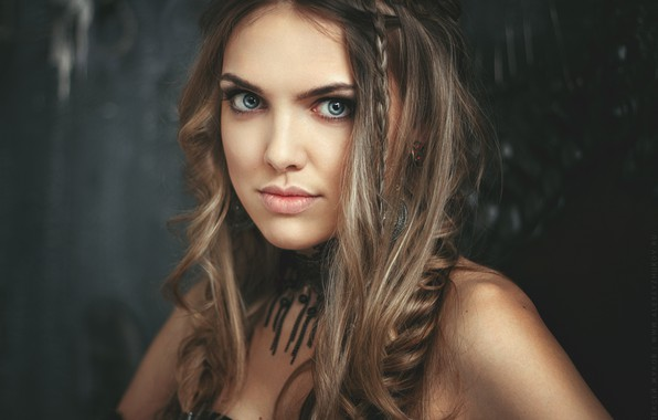 Picture look, girl, face, hair, portrait, beautiful, Aleksey Zhukov