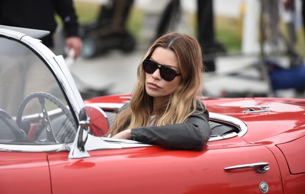 Picture car, machine, auto, pose, makeup, actress, glasses, the series, car, auto, hair, glasses, Lucifer, Lucifer, …