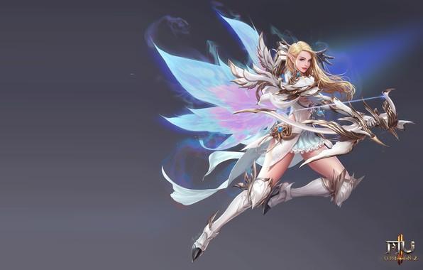 Picture the game, Archer, fantasy, art, MMORPG, costume design, seunghee lee, MU origin2 -Fairy-
