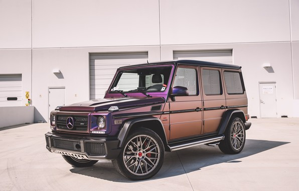 Picture Mercedes, Purple, AMG, G63, W463, G-class