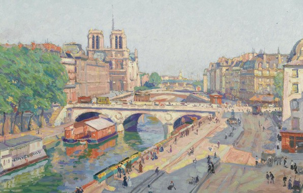 Picture picture, the urban landscape, Henri Payet, Henri Pailler, The promenade is named after the Great …