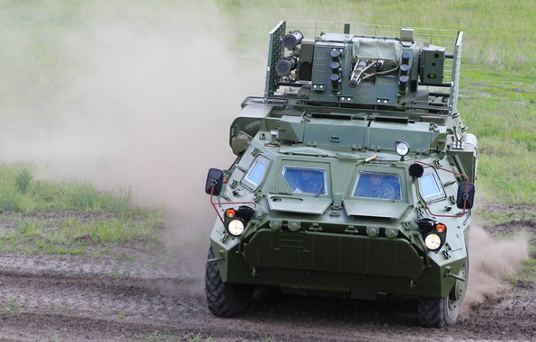 "Picture Ukraine, The BTR-4, OKB imeni Morozova, BM-7 ""Parus"", Bucephalus"